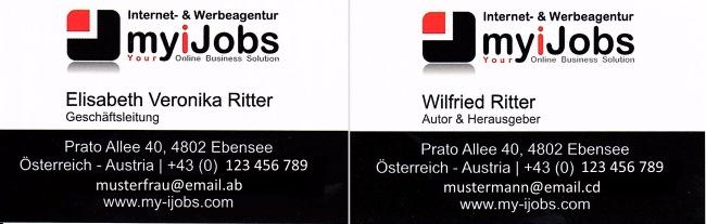 Internetagentur myiJobs Elisabeth Ritter