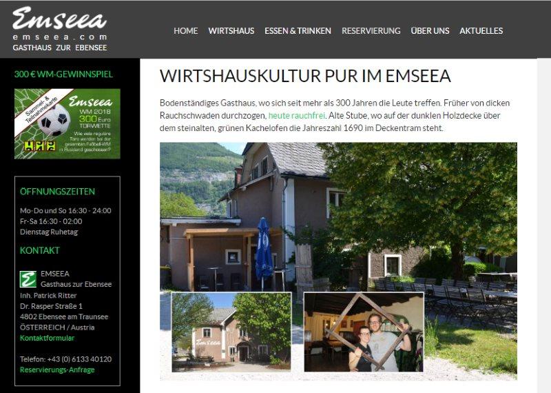 Emseea - Gasthaus zur Ebensee